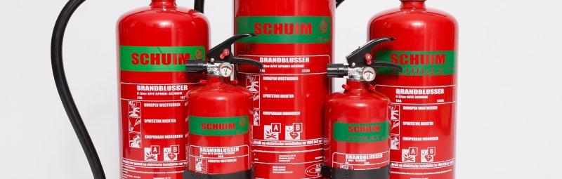 Schuimblusser Holthausen Brandbeveiliging Groningen Hoogezand
